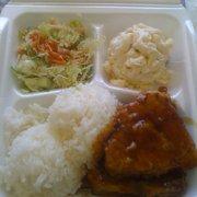 Koloa Fish Market - Ahi lunch (teriyaki) - Koloa, HI, Vereinigte Staaten