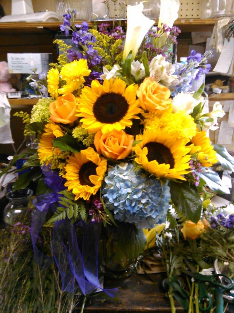 Grand Sunflower Bouquet $125 | Yelp