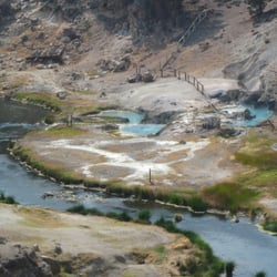 Hot Creek Ranch - Mammoth Lakes, CA, États-Unis. Hot Creek Geologic Site
