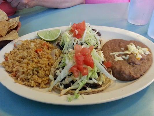 Steak taco dinner!!!