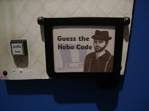 Museum of Science - Hobo Codes! - Boston, MA, Vereinigte Staaten