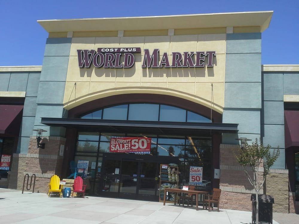 Cost Plus World Market Store Front Fremont Hub Shopping Center Fremont Ca Yelp