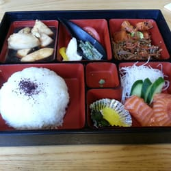 My chicken teriyaki bento box...I asked…