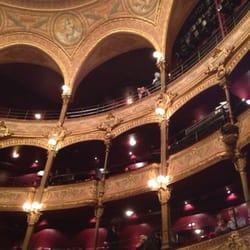 Théâtre du Châtelet - Paris, France. Gorgeous balconies!