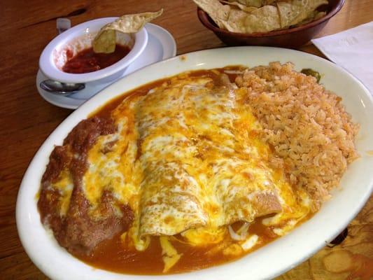 Enchiladas With Rice And Beans enchiladas wrice  amp beans