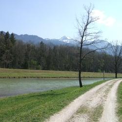 Achental-Radweg, Übersee, Bayern