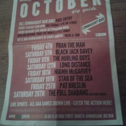 October in connaught bar