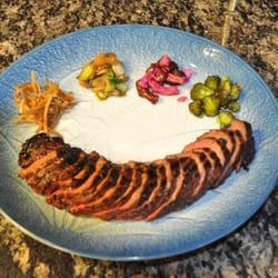 The Old Town Farm Inn - Chester, VT, États-Unis. Broiled Teriyaki Steak
