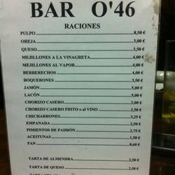 Bar O' 46, Santiago de Compostela, A Coruña