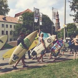 Die Leine, Hannover, Niedersachsen