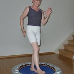 Rebounding hält Körper und Geist fit