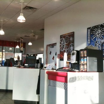 Discount Tire Store - Raleigh - Raleigh, NC, United States. Counter at ...