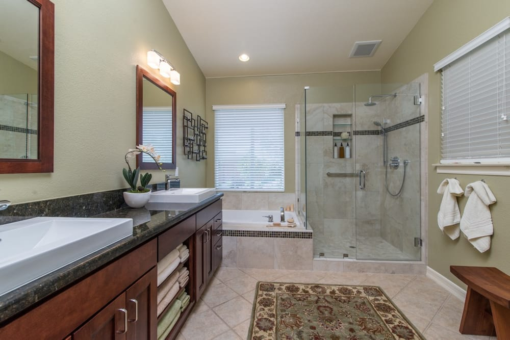 Master Bathroom Remodel With Stand Alone Shower And Separate Jacuzzi Tub Yelp