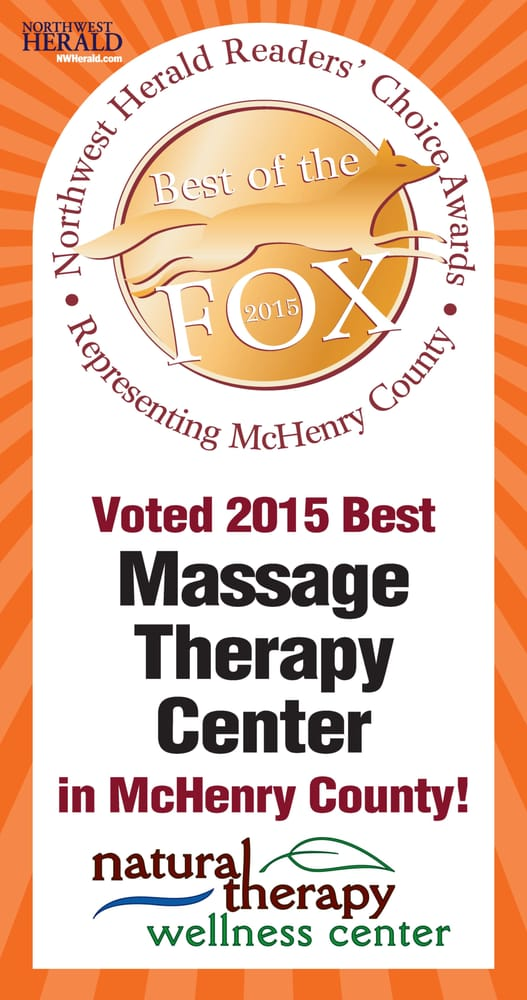 Voted Best Massage Therapy Center in McHenry County- 2015 by ...