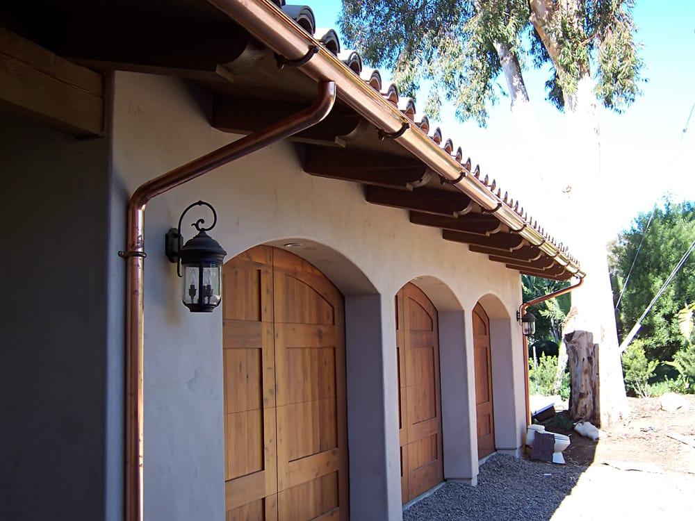 Custom Copper Half Round Gutters San Diego Yelp