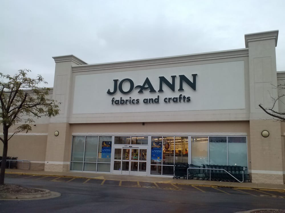 Jo ann fabric and craft fabric stores avon in yelp for Joann craft store near me