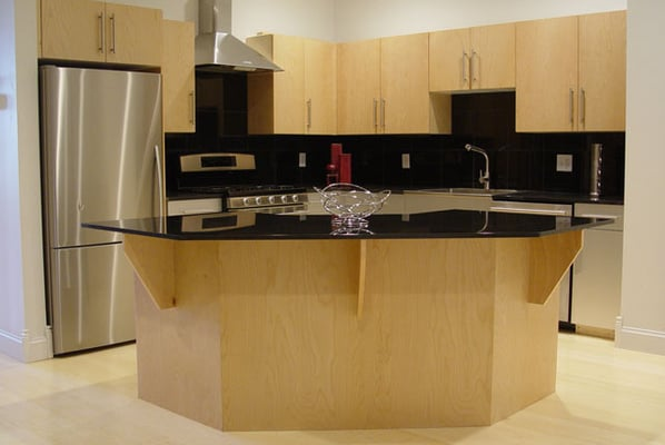 Supporting Granite Countertop Over Dishwasher : Granite countertops, stainless steel appliances, gas stove, dishwasher ...