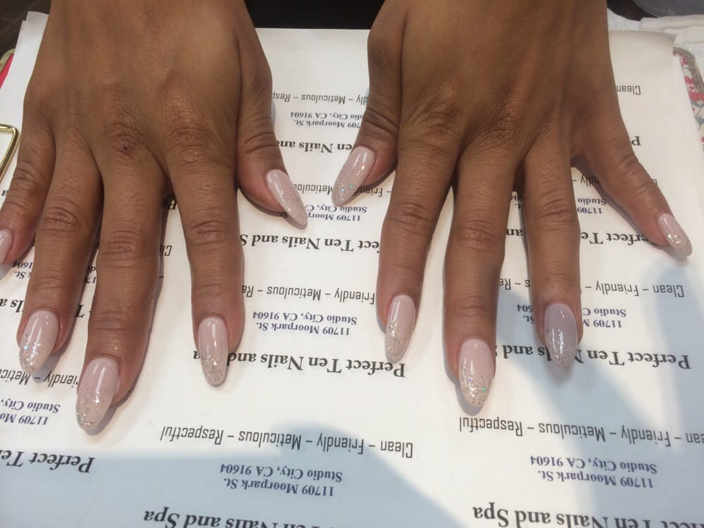 Oval nails with opi new collection gel polish don 39 t bossa for A perfect ten salon
