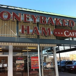 """HoneyBaked Ham is a food retailer founded in that sells Honey Baked Ham, Turkey Breast and other fully cooked entrées, side items and desserts. HoneyBaked is available at over locations, their mission statement is, """"Celebrating life, one meal at a time.""""."""