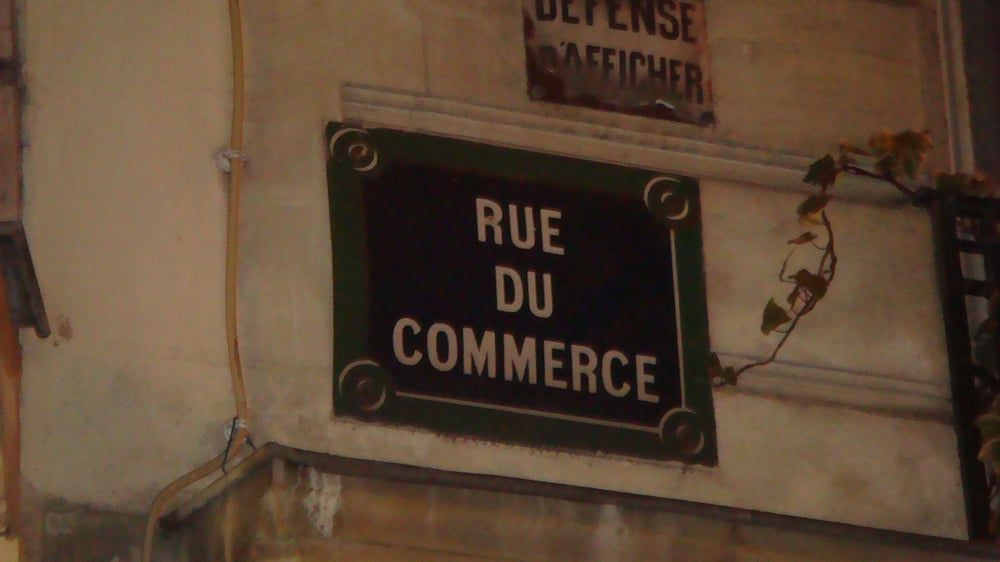 La rue du commerce local flavour vaugirard grenelle paris france rev - Rue du commerce literie ...