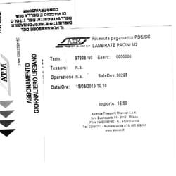 ATM, Mailand, Milano, Italy