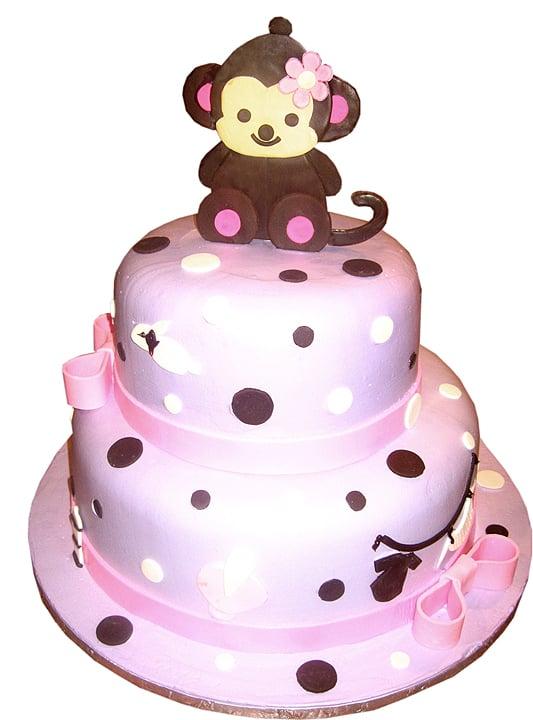 one bakery alhambra ca united states baby monkey baby shower cake