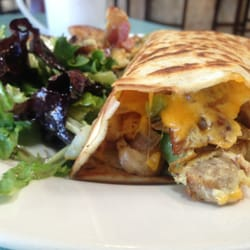 Crepes N More - The ultimate crepe with house salad and potatoes! YUM! - Fairfield, CA, United States