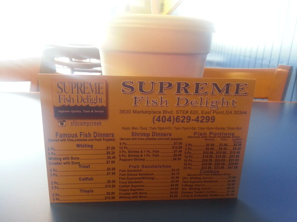 Supreme Fish Delight 10 Photos Fish Chips Atlanta
