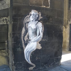 Street Art de la tours Saint Michel