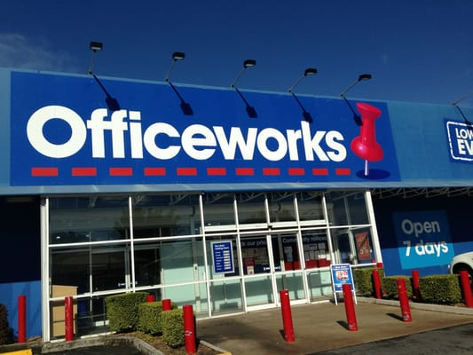 Woolloongabba Officeworks Office Equipment 164 176