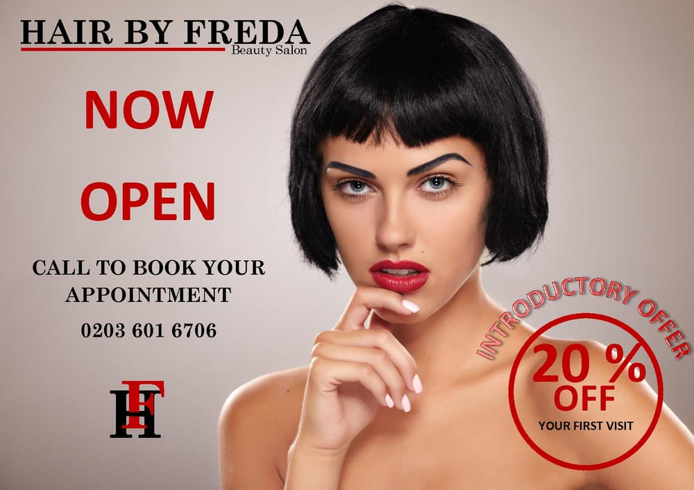 Hair by freda hair salons lower holloway london for Hair salons open near me