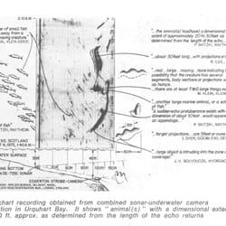 Sonaraufnhame der Expediiton von 1972