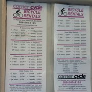 Bike Zone Falmouth Ma Corner Cycle
