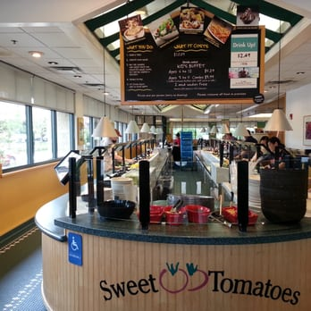 You will find a wide selection of fresh salads, soups, pasta and baked goods served buffet style at Souplantation. There are lots of great buffets out there, but the buffet at Souplantation and Sweet Tomatoes is set apart from the rest by focusing on fresh foods and healthy preparations.