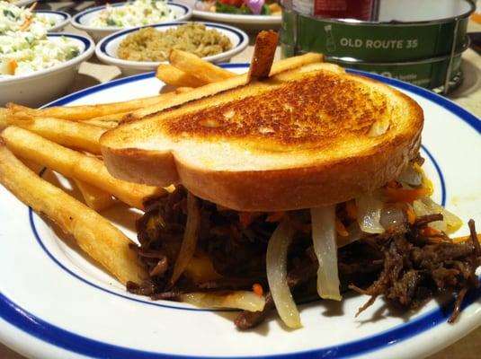 Bob Evans - Bob Evans Pot Roast Sandwich - Springfield, VA, United ...