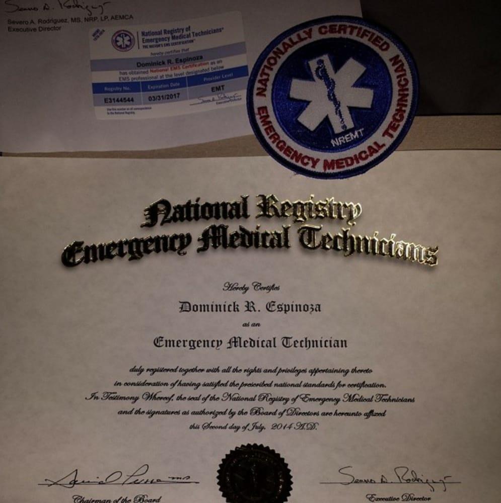 California Institute of EMT - Vocational & Technical ...