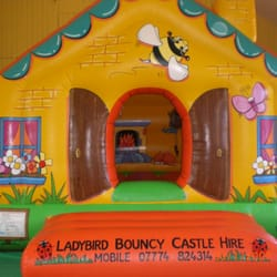 12 x15 foot cottage style bouncy castle