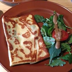 Caffe Mona la bistro - Crepe was really good, but I was still hungry lol - Pittsburgh, PA, Vereinigte Staaten