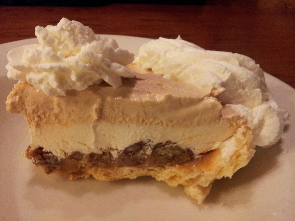 ... - Caramel pecan pumpkin mousse pie WOW - Valencia, CA, United States