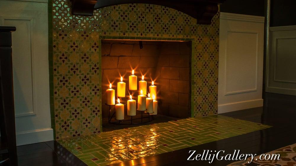 Exotic Moroccan Zellij Tiled Fireplace Yelp