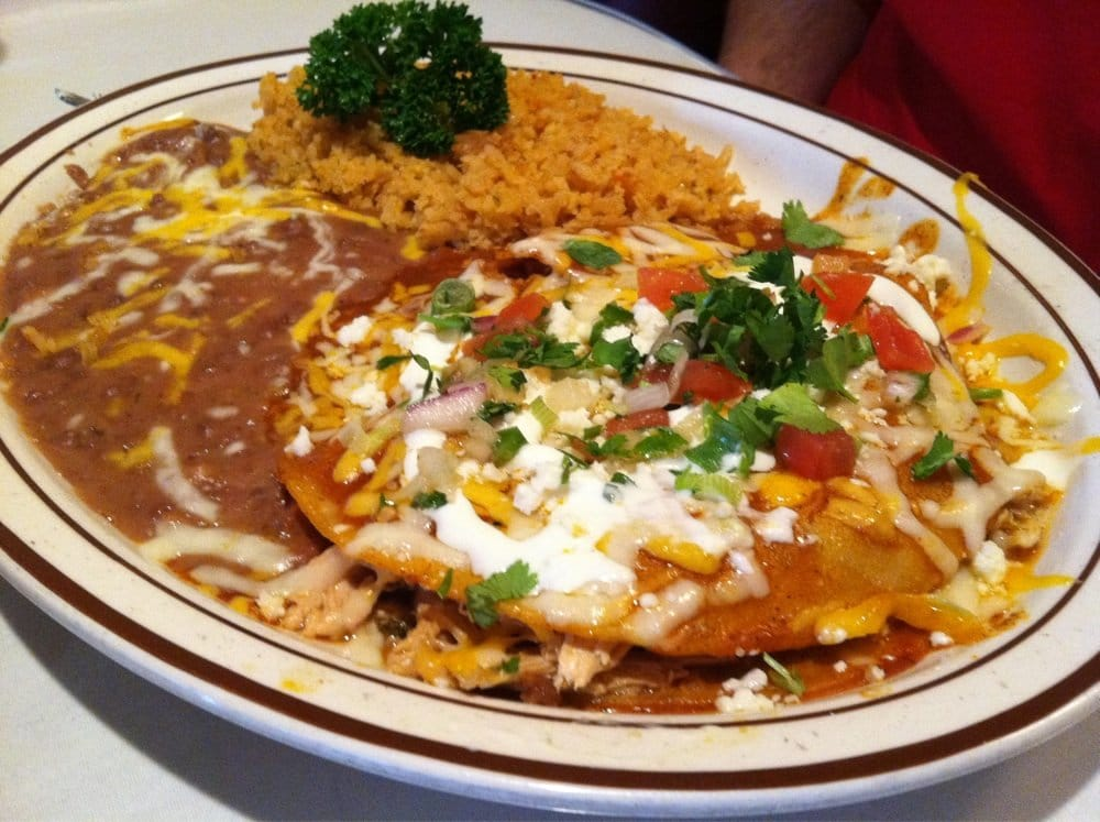... Bakersfield, CA, United States. Chicken topitio enchiladas (stacked