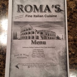 Roma's Italian Restaurant - Clovis, NM | Yelp
