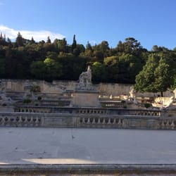 Jardins de la Fontaine, Nîmes, Gard, France
