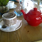 My little red teapot of tea