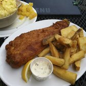 Delicious Fish and Chips at the Town of Ramsgate