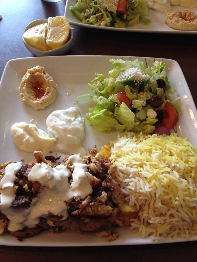 Beef Shawarma Platter Shawarma Mix Platter-chicken