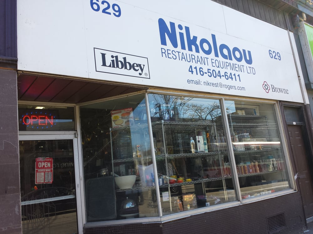Nikolaou restaurant equipment wholesale alexandra park for Equipement cafe