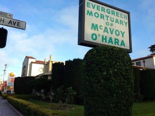 Mcavoy Funeral Home San Francisco