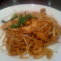 Mee Goreng with Chicken & Prawns