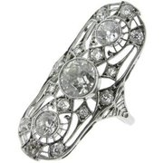 Art deco ring London. This sensational art deco ring has just been aquired